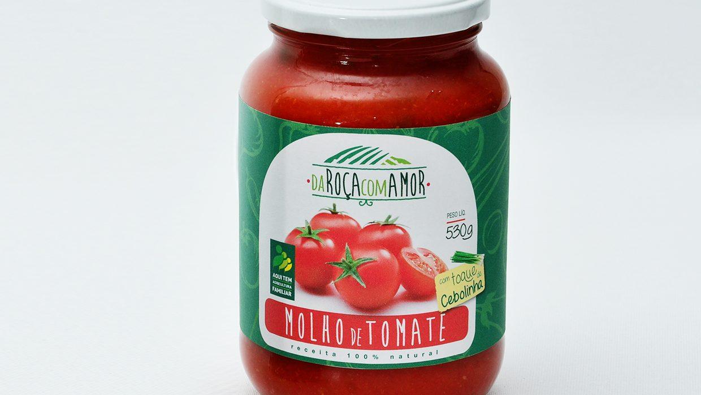 Molho de tomate com Cebolinha 530g